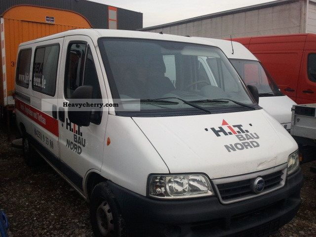 2003 Fiat  Ducato 2.3 JTD 6 seats Van or truck up to 7.5t Estate - minibus up to 9 seats photo