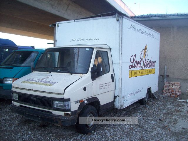 1991 Fiat  ducato bakery Van or truck up to 7.5t Traffic construction photo