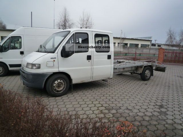2000 Fiat  Bravo Van or truck up to 7.5t Car carrier photo