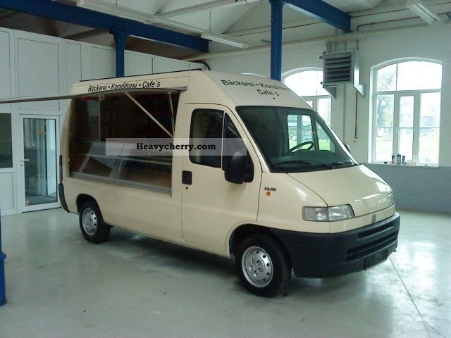 2001 Fiat  Ducato 2.8 JTD Maxi bakery 4x4 car sales Van or truck up to 7.5t Traffic construction photo