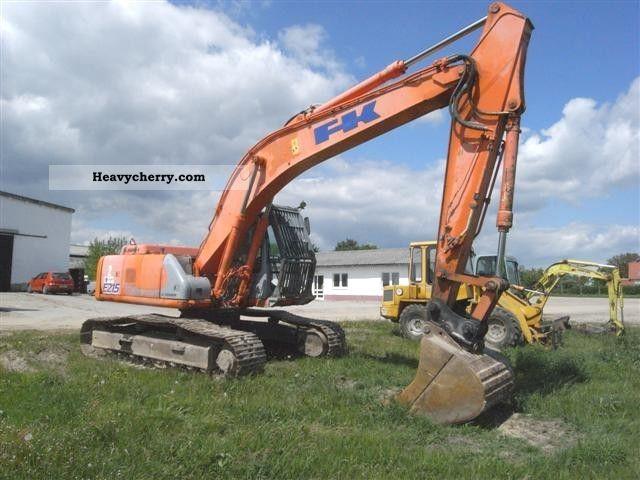 2003 Fiat  E215 LCM Construction machine Caterpillar digger photo