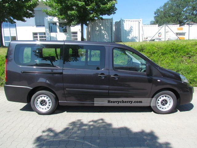 fiat scudo combi l2h1 120 39 39 9 seater 39 39 2011 estate minibus up to 9 seats truck photo and specs. Black Bedroom Furniture Sets. Home Design Ideas