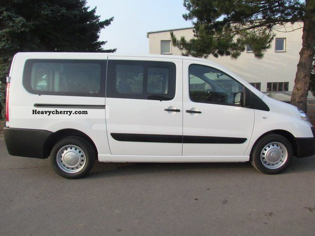 fiat scudo combi l2h1 130 39 39 9 seater 39 39 2011 estate minibus up to 9 seats truck photo and specs. Black Bedroom Furniture Sets. Home Design Ideas