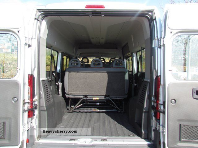 fiat ducato kombi 33 l2h2 multijet 120 9 seater 2009. Black Bedroom Furniture Sets. Home Design Ideas
