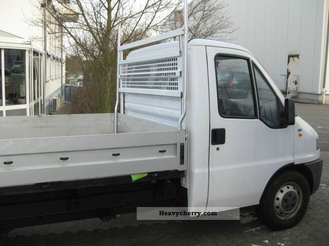 fiat ducato 2 5 1996 stake body truck photo and specs. Black Bedroom Furniture Sets. Home Design Ideas