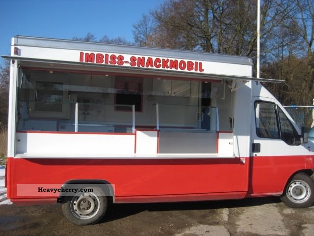1997 Fiat  Selling mobile self-propelled vehicle grill snack Van or truck up to 7.5t Traffic construction photo