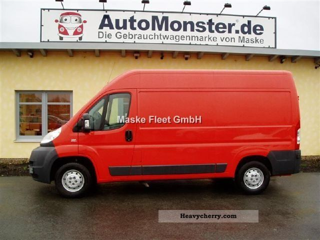 2010 Fiat  Ducato L2H2 DPF 250.1G2.0 Van or truck up to 7.5t Box-type delivery van photo