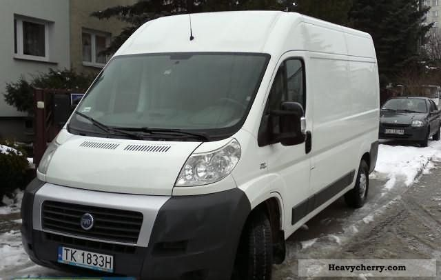fiat ducato l2h2 2 3 diesel 2007 other vans trucks up to 7 photo and specs. Black Bedroom Furniture Sets. Home Design Ideas