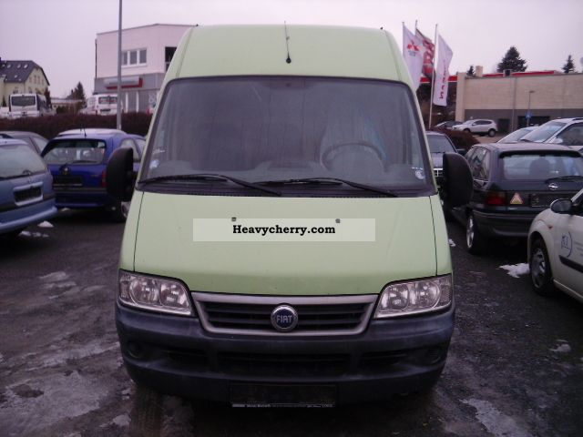 2003 Fiat  Ducato 2.3 JTD Van or truck up to 7.5t Box-type delivery van - high photo