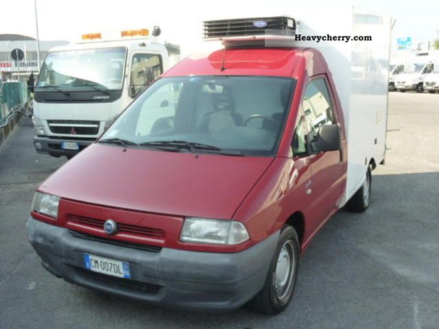 2003 Fiat  Scudo 2.0 JTD PL PIANALE Cabinato Van or truck up to 7.5t Other vans/trucks up to 7 photo