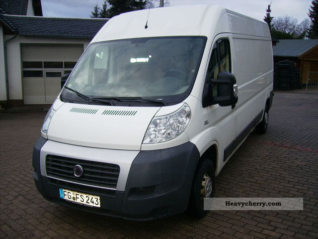 fiat ducato 35 l4h2 120 2007 box type delivery van high. Black Bedroom Furniture Sets. Home Design Ideas