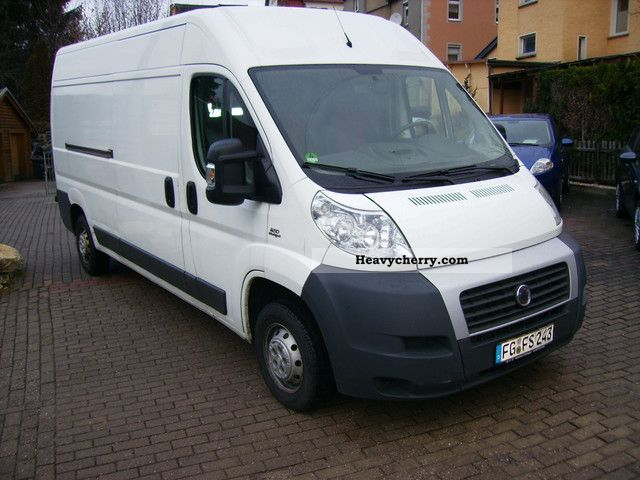fiat ducato 35 l4h2 120 2007 box type delivery van high and long photo and specs. Black Bedroom Furniture Sets. Home Design Ideas