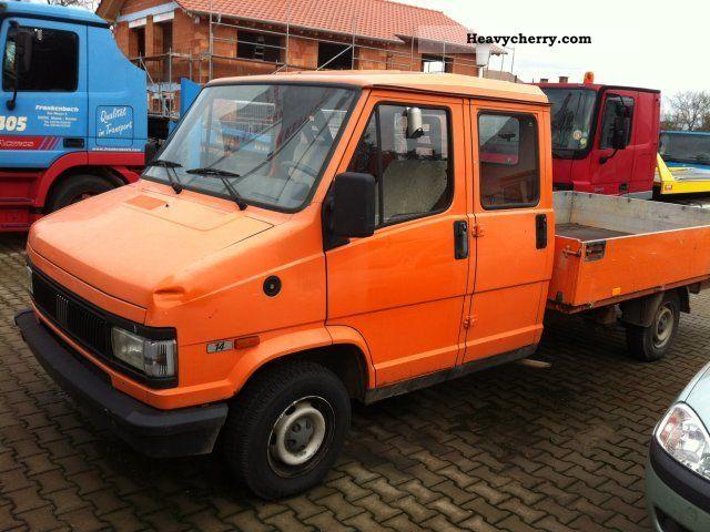1991 Fiat  Bravo Van or truck up to 7.5t Stake body photo