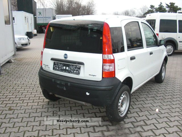 fiat panda 4x4 diesel air 2006 box type delivery van photo and specs. Black Bedroom Furniture Sets. Home Design Ideas