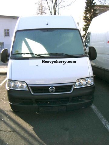 fiat ducato 15 2 8 jtd l2h2 2005 box type delivery van photo and specs. Black Bedroom Furniture Sets. Home Design Ideas