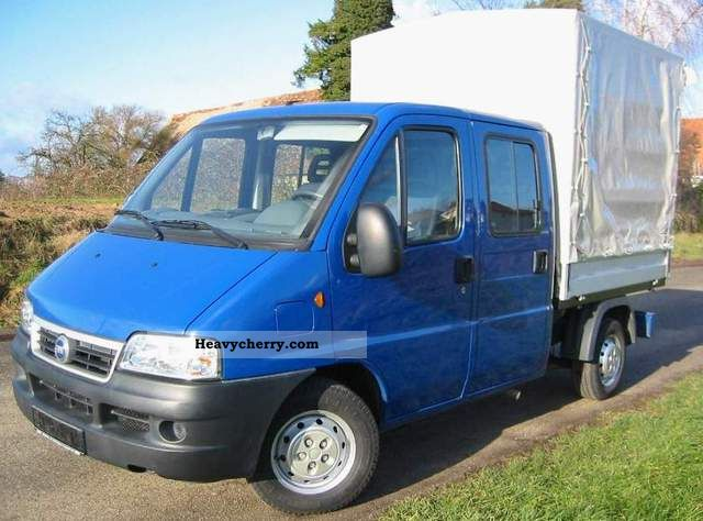 2003 Fiat  Ducato 2.0 JTD Turbo Diesel Van or truck up to 7.5t Stake body photo