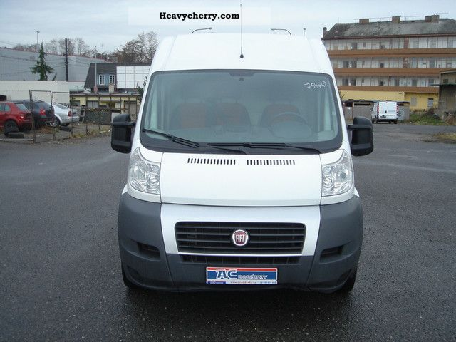 fiat ducato l4h2 2010 box type delivery van high and long photo and specs. Black Bedroom Furniture Sets. Home Design Ideas
