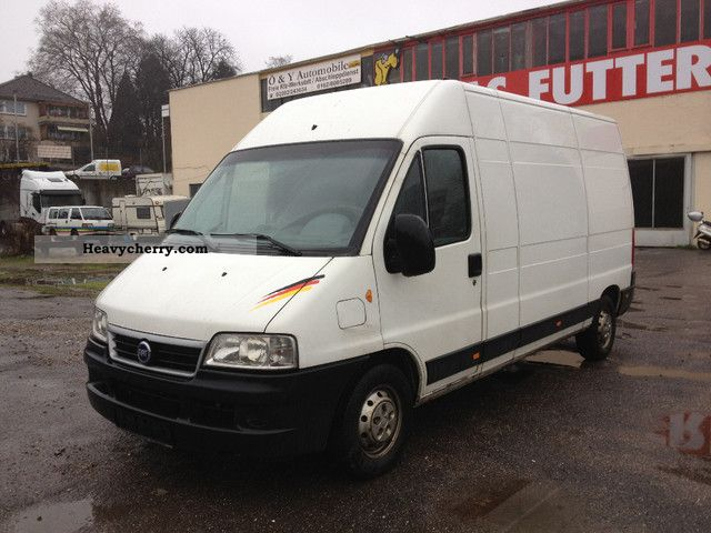 2003 Fiat  Dukato high + long, climate + \ Van or truck up to 7.5t Box-type delivery van - high and long photo