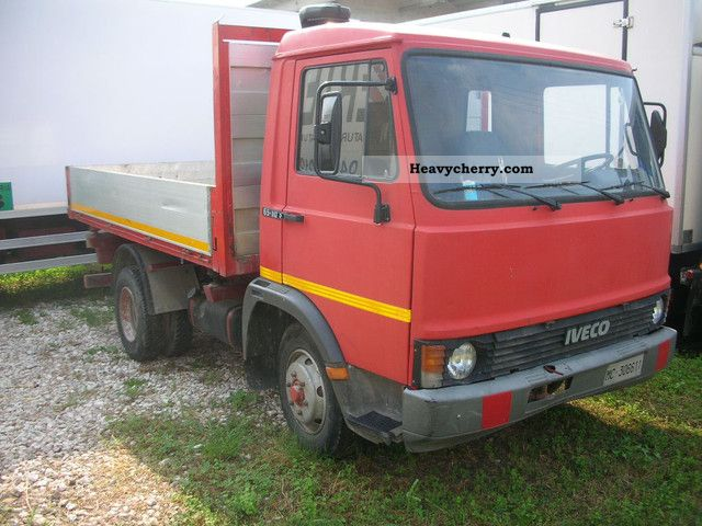 1981 Fiat  65 10 Van or truck up to 7.5t Dumper truck photo
