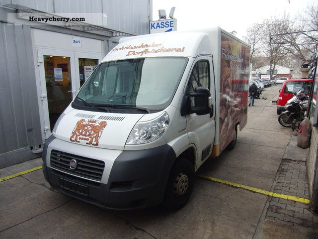 2008 Fiat  Ducato Multijet 100 M29-30s selling mobile Van or truck up to 7.5t Traffic construction photo
