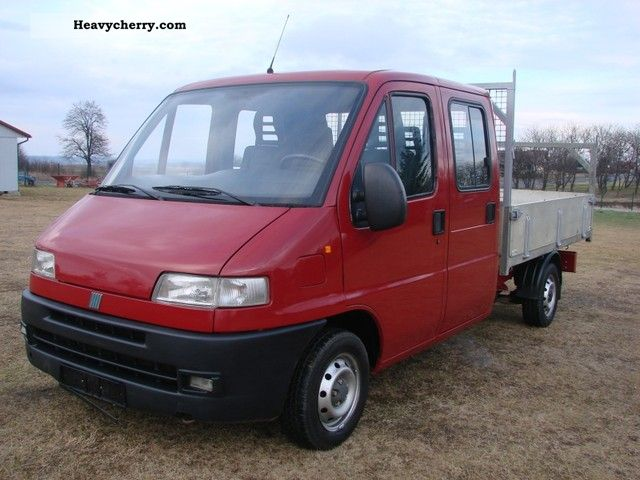 Fiat ducato doka 2000 stake body truck photo and specs for Interieur fiat ducato 2000
