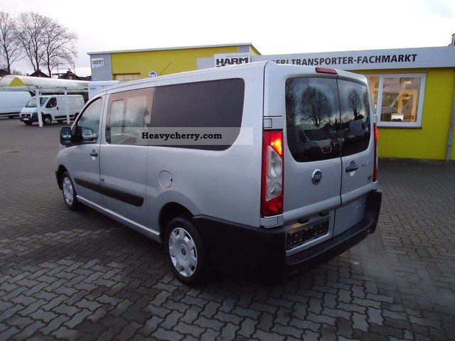 fiat scudo combi l2h1 10 mixto part glazed 6 seater 2008 estate minibus up to 9 seats truck. Black Bedroom Furniture Sets. Home Design Ideas