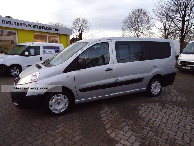 fiat scudo combi l2h1 10 mixto part glazed 6 seater 2008 estate minibus up to 9 seats truck. Black Bedroom Furniture Sets. Home Design Ideas