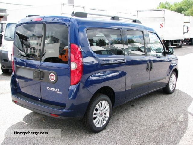 fiat doblo cargo 2 0 multijet sx maxi kombi e5 truck 2011 estate minibus up to 9 seats truck. Black Bedroom Furniture Sets. Home Design Ideas
