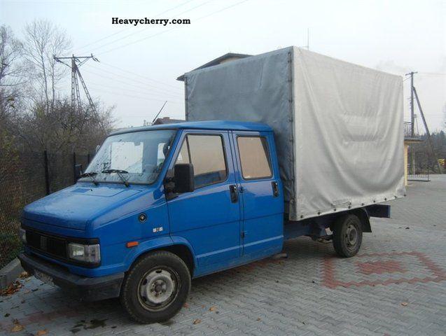 1992 Fiat  Bravo Van or truck up to 7.5t Other vans/trucks up to 7 photo