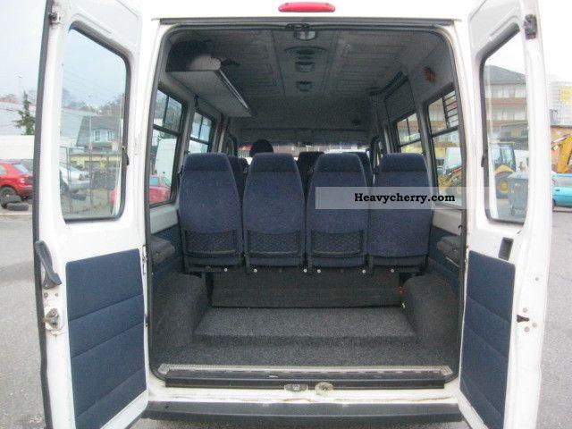 Fiat Ducato 14 Bus Seats 2005 Estate