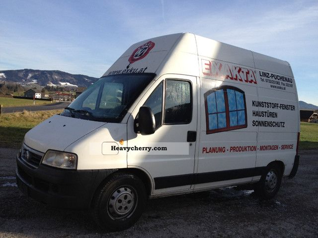 2003 Fiat  Ducato 2.8 JTD EXTRA HIGH MEDIUM LONG BJ + 2003 Van or truck up to 7.5t Box-type delivery van photo