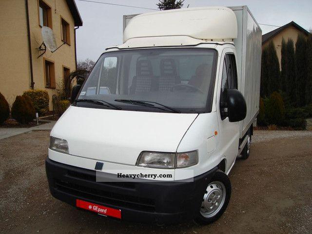 Fiat ducato 2 5 d izoterma chlodnia agregat 2000 for Interieur fiat ducato 2000