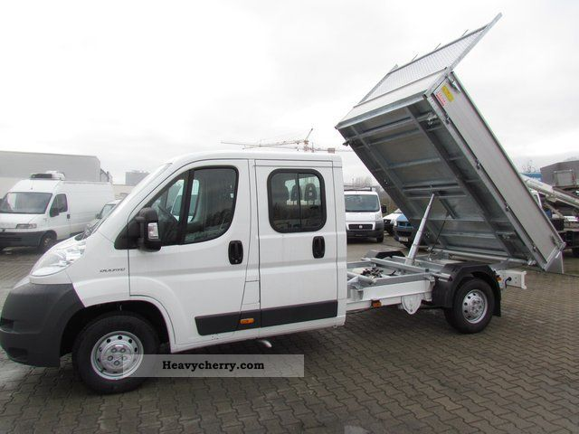 2011 Fiat  Ducato 35 Doka Tipper L4 120 (building protection) Van or truck up to 7.5t Tipper photo
