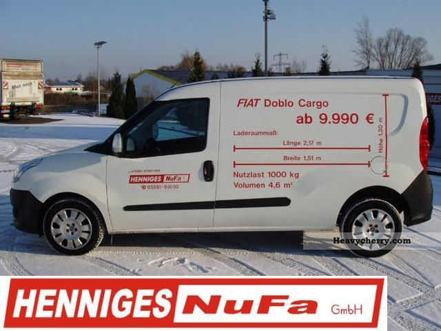 fiat doblo cargo maxi sx 1 6 2012 box type delivery van long photo and specs. Black Bedroom Furniture Sets. Home Design Ideas