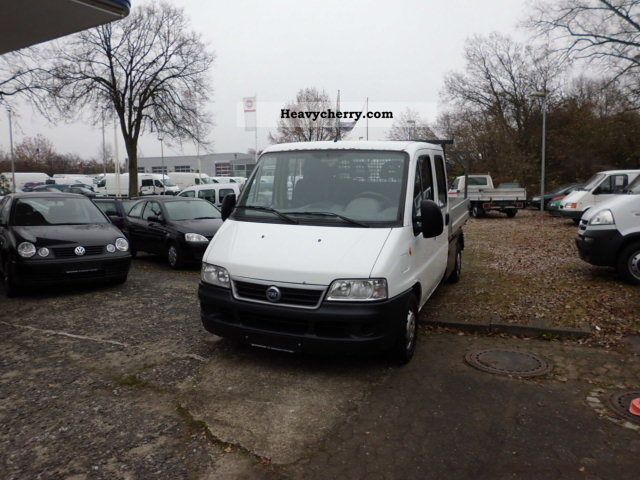 2003 Fiat  Ducato Doka Van or truck up to 7.5t Stake body photo
