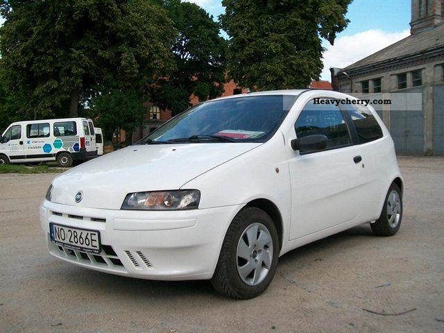 2003 Fiat  Pozostałe PUNTO II VAN 2003 1.9 D-1 BEZWYPADK VAT Van or truck up to 7.5t Other vans/trucks up to 7 photo