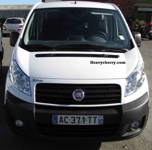 fiat scudo vitr cabine approfondie 6 places 2009 box type delivery van photo and specs. Black Bedroom Furniture Sets. Home Design Ideas