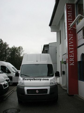 2011 Fiat  Ducato L5H3, 17 m3 - 37% off! Van or truck up to 7.5t Box-type delivery van - high and long photo