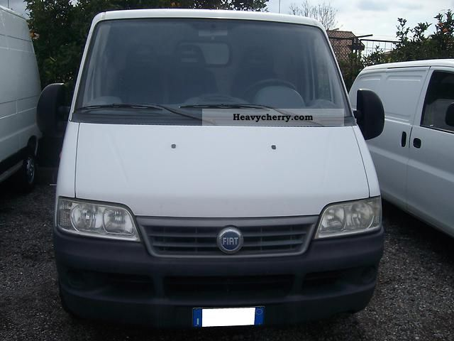 2003 Fiat  DUCATO2.0JTD 90CV COIBENTATO PORT. KG.1070BIANCO Van or truck up to 7.5t Other vans/trucks up to 7 photo