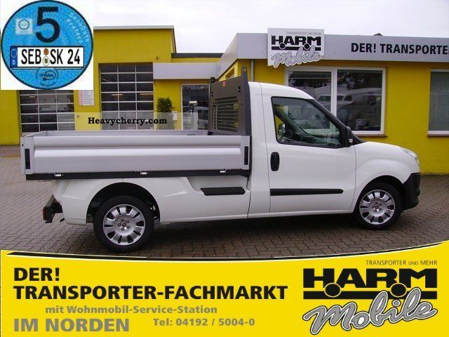 2012 Fiat  Doblo 1.6 Multijet Pick Up Work * 5 * € Van or truck up to 7.5t Stake body photo