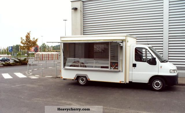 1995 Fiat  snack cart Van or truck up to 7.5t Traffic construction photo