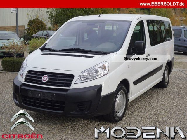 fiat scudo combi l2 120 6 seater twin air 2008 estate minibus up to 9 seats truck photo and specs. Black Bedroom Furniture Sets. Home Design Ideas