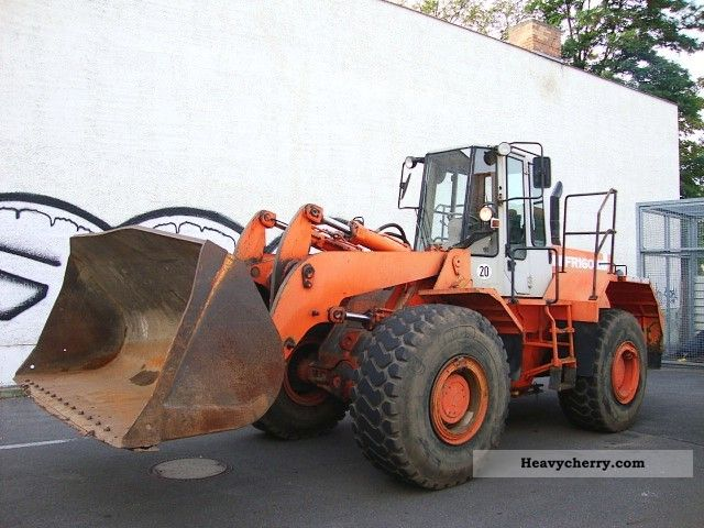 1992 Fiat  FR 160 wheel loader wheel loader 3m ³ Construction machine Wheeled loader photo