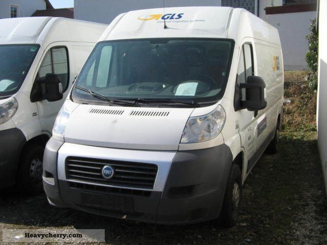 2007 Fiat  Ducato 120 2.3 Multijet Van or truck up to 7.5t Box-type delivery van - high and long photo