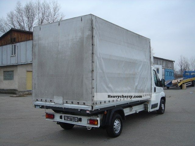 Fiat Ducato Pritsche   Plan 2006 Stake Body And Tarpaulin Truck Photo And Specs