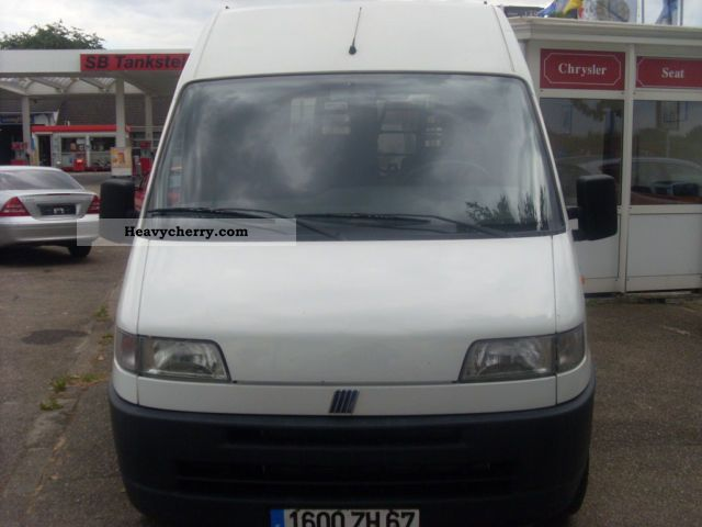 2000 Fiat  Bravo Van or truck up to 7.5t Box-type delivery van - high photo