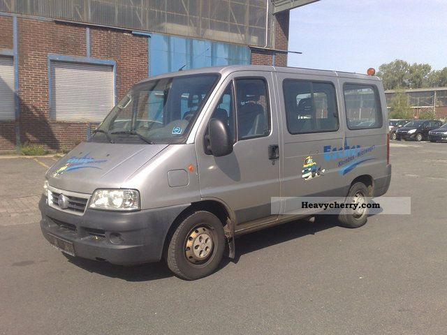 2003 Fiat  Ducato 2.3 TD climate € 3 9 seats Van or truck up to 7.5t Estate - minibus up to 9 seats photo