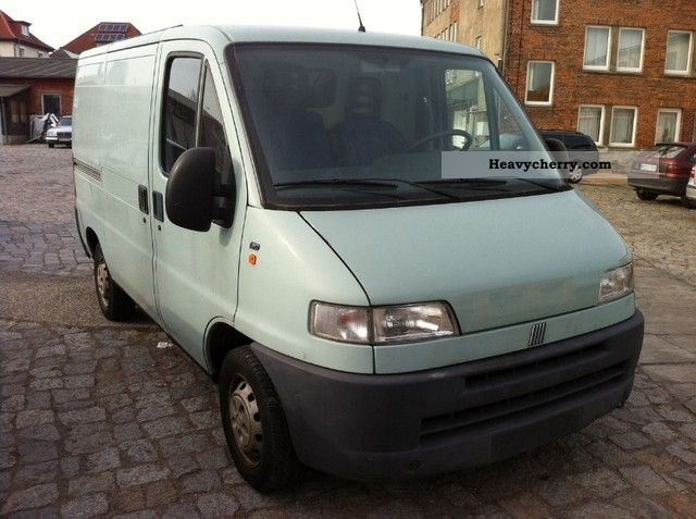 2001 Fiat  Ducato 1.9 D inspection new WEBASTO Van or truck up to 7.5t Box-type delivery van photo