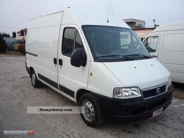 fiat ducato 2006 box type delivery van photo and specs. Black Bedroom Furniture Sets. Home Design Ideas