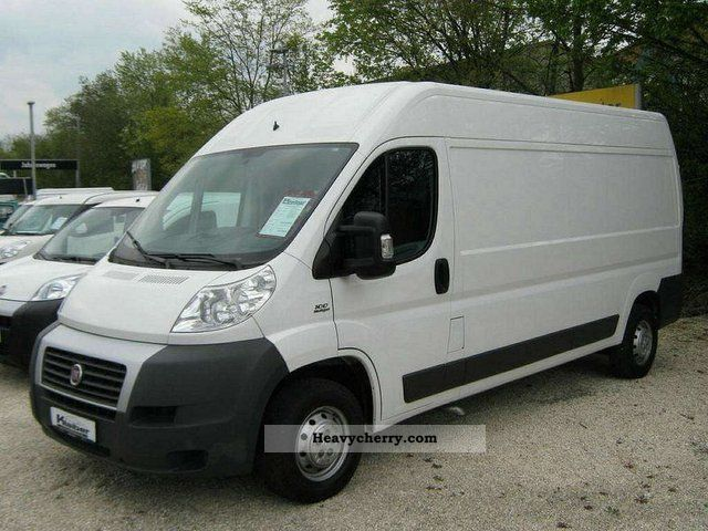 fiat ducato 35 2 2 l4h2 2009 box type delivery van high. Black Bedroom Furniture Sets. Home Design Ideas